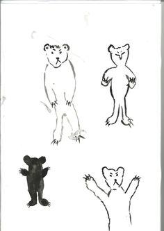bears from sketchbook