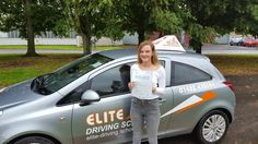 Congratulations to Courtney Jessop for passing her Driving Test on the 29th of July 2016 with #EliteDrivingSchool. Good luck for the future from #DrivingInstructor John McGonagle and the Team at Elite.