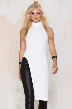 Nasty Gal Day 'n Night Asymmetrical Maxi Tank Top | Shop Clothes at Nasty Gal!