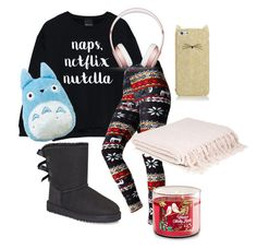"""Every Day Love"" by molly-ava ❤ liked on Polyvore featuring UGG, Beats by Dr. Dre and Kate Spade"