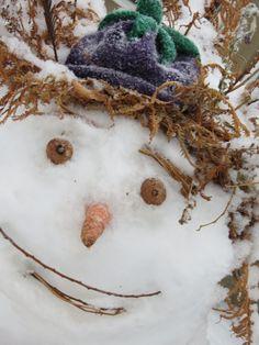 sweet snowman face