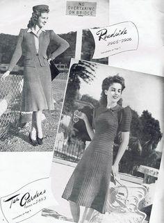 1940s PDF knitting Patterns PDF Copy of by GrannyspdfPatterns