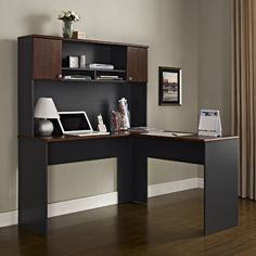 Altra The Works L-Shape Executive Desk with Hutch & Reviews | Wayfair