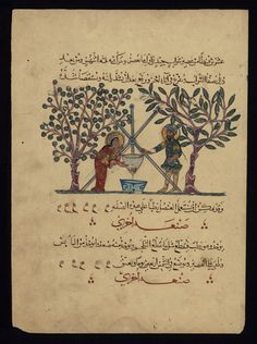 De Materia Medica, a book on medicinal herbs, was circulated in Latin, Greek, & Arabic throughout the medieval ages: