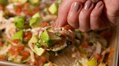 Zucchini Nachos - Delish.com Have to try without cheese