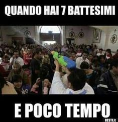 Quando hai 7 battesimi Funny Animal Memes, Funny Jokes, Hilarious, Funny Photos, Funny Images, Italian Memes, Funny Test, Savage Quotes, Funny Video Memes