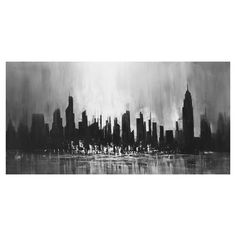 Found it at AllModern - City Sky Line Canvas Art