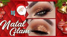 MAQUIAGEM BARATINHA DE NATAL  - Christmas Makeup Tutorial - https://www.youtube.com/watch?v=-dGAejGxa18