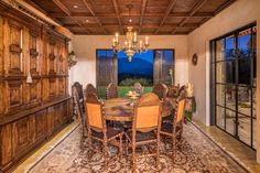 Joe Montana's Napa Valley Equestrian Villa Lists For $28.9 Million Ranches For Sale, Marble Kitchen Island, Arch Doorway, Tuscan Grill, Luxury Real Estate, Architectural Features, Villa, Luxury Homes, Utility Buildings