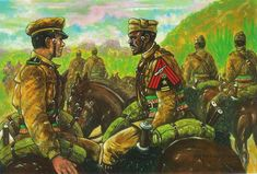 Regio Esercito - Truppe Coloniali - XV GRUPPO SQUADRONI CAVALLERIA COLONIALE DELL'ERITREA - RIPIEGAMENTO DA CHEREN (28 MARZO 1941)