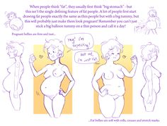 "winterbramble: ""Thanks so much for your ask! I've meant to do a tutorial like this for a long time. This is the way that I draw big girls, though it's quite a short and basic tutorial. I hope it..."