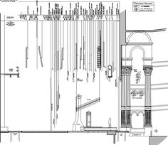 sectional view of a proscenium stage - Google Search