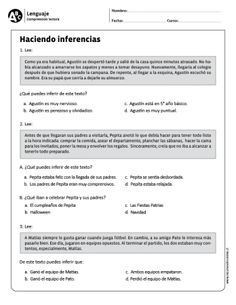 Learn Spanish For Adults Teaching Info: 8105443948 Learning Spanish For Kids, Spanish Teaching Resources, Spanish Activities, Learning Activities, Spanish Lesson Plans, Spanish Lessons, Reading Strategies, Reading Comprehension, Ap Spanish