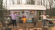 "Drastic Downsizing: When Times Got Tough, This Family Built a ""Tiny House"""