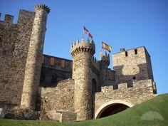 Templars Castle Ponferrad Villafranca, Spain