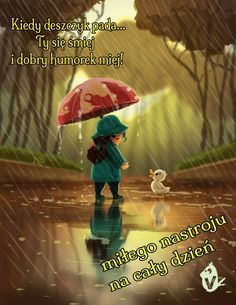 Rainy Days, Humor, Movie Posters, Movies, Fictional Characters, Rain, Good Morning, Pictures, Polish