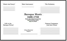 Make a Web of the Baroque Period, plus more great ideas with QuaverMusic.com!