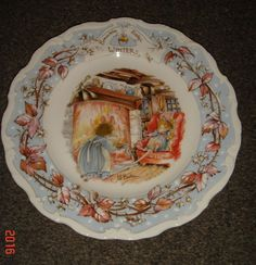 ROYAL DOULTON BRAMBLY HEDGE WINTER THE AFTERNOON TEA PLATE Buy It Now £7.99 Or Best Offer Item No 361590094253