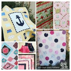 Quilt Story Patterns.  I love the Dottie pattern!
