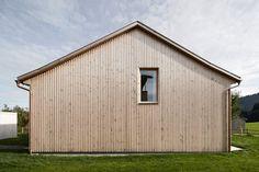 Innauer‐Matt Architekten,  Vorarlberg, Austria. [elevation]