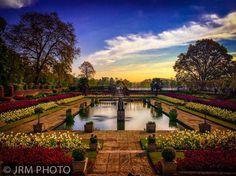 Single image hdr taken at Kensington Palace in London
