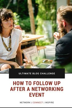 How to Follow Up after a Networking Event Connection, Challenges, Posts, Blog, Inspiration, Biblical Inspiration, Messages, Blogging, Inspirational