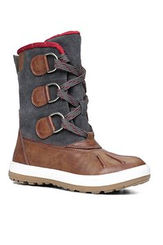 30 Winter Boots You Can Walk In #refinery29  http://www.refinery29.com/functional-winter-boots#slide-19  The pop of red shearling gives these Aldo boots a touch of uniqueness.