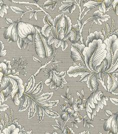 Home Decor Print Fabric- Swavelle Millcreek Perdido Paramount Graphite