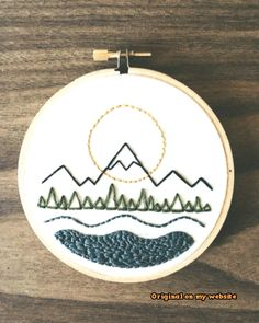 Thrilling Designing Your Own Cross Stitch Embroidery Patterns Ideas. Exhilarating Designing Your Own Cross Stitch Embroidery Patterns Ideas. Embroidery Hoop Decor, Hand Embroidery Patterns Free, Simple Embroidery, Hand Embroidery Stitches, Vintage Embroidery, Cross Stitch Embroidery, Embroidery Ideas, Hand Stitching, Machine Embroidery