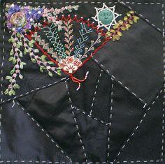 Jewles on Black RR- Hideko's block | CQI RR block | Jo in NZ | Flickr