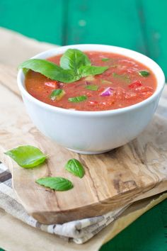 """Cold soup: Love it or hate it? If you said, """"love it,"""" click here. This quick and easy Gazpacho is for you."""