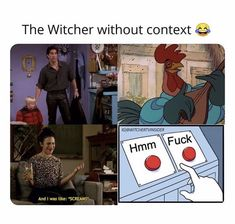 a collection of funny texts from the netflix series - the witcher The Vampire Diaries, Shows On Netflix, Netflix Series, Hunger Games, Nina Dobrev, Brooklyn 9 9, Teen Wolf, Movies And Series, Funny Memes
