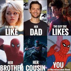 Always good stuff coming from @marvelousjokes check em out guys. #MarvelousJokes #spiderman #comics #comic #comicbook #comicbooks #nebriated #comiccon #wondercon #wondercon2016 #marvel #marveluniverse #marvelcomics #marvelshots #superherofact #followme #follow #captainamerica #captainamericacivilwar #ironman #hulk #blackwidow #hawkeye #thor #gotg #funny #geek #teamcap #teamironman