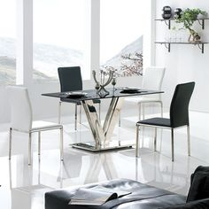 Have to have it. Armen Living Vengo 5 Piece Dining Table Set - $1722 @hayneedle