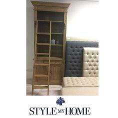 HARVEY Natural Oak Cabinet/ Bookcase Style My Home Sydney Australia Hamptons Country