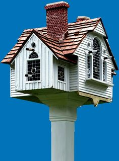 thomas+burke+birdhouses | Thomas Burke Takes Bird's-Eye View of Architecture - UnBeige