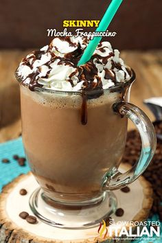 Skinny Mocha Frappuccino from @SlowRoasted