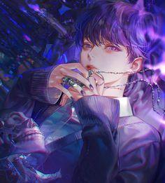 Anime W, Dark Anime Guys, Fanarts Anime, Anime Angel, Kawaii Anime, Cute Anime Boy, Anime Art Girl, Anime Boys, Korean Anime