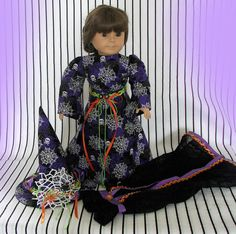 Doll Witch Costume 18 Inch Doll Elegant Witch by FocusonColor