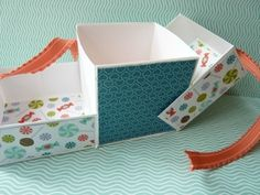 Origami for Everyone – From Beginner to Advanced – DIY Fan Cube Origami, Origami Easy, Paper Cube, Gift Wraping, Diy Fan, Diy Gift Box, Gift Boxes, 3d Paper Crafts, Explosion Box