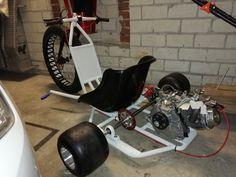 Drift Trike Motorized, Homemade Go Kart, Big Wheel, Stationary, Bike, Trike Motorcycle, Soldering, Motorbikes, Bicycle