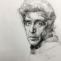 Portrait sketches, pencil portrait, portrait art, art sketches, c Life Drawing, Figure Drawing, Drawing Sketches, Painting & Drawing, Art Drawings, Drawing Ideas, Sketching, Portrait Sketches, Pencil Portrait
