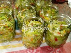▷ Zeleninová čalamáda se zelím recept - Recepty.eu Guacamole, Mexican, Ethnic Recipes, Food, Red Peppers, Essen, Meals, Yemek, Mexicans