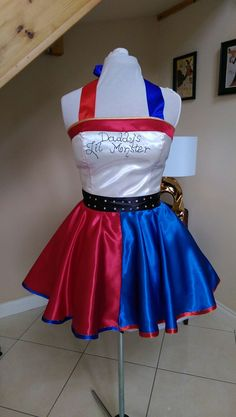 Harley Quinn Suicide Squad dress . by BeBaGo on Etsy