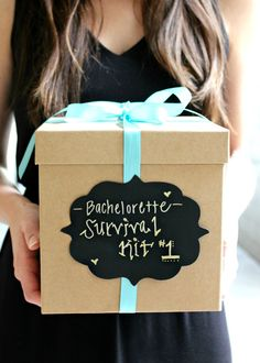 DIY Bachelorette Survival Kit