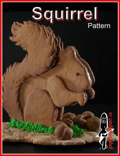 Gingerbread Giant Squirrel Pattern Sell