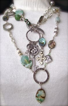 Distant Shores  www.silhouettejewelrydesign.com