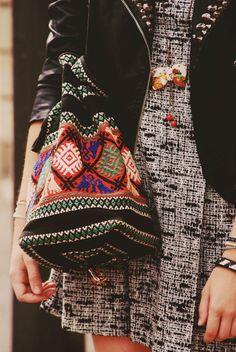 tribal bag