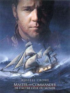 Master & Commander : de l'autre côté du monde est un film de Peter Weir avec Russell Crowe, Paul Bettany. Synopsis : En 1805, le capitaine Jack Aubrey est une des figures les plus brillantes de la Marine Royale britannique. Son courage, sa ténacité, son sens tactique
