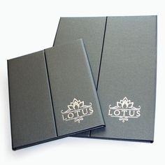 Gate Fold Menu Covers. The Smart Marketing Group - Hospitality. Industrial bistro themed Restaurant menu presentation. Industrial themed menu presentation products for hospitality.